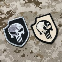 MADE IN USA  実物 SEALteam3 パニッシャー刺繍パッチ (18)