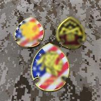 MADE IN USA  実物 DEVGRU レッドチーム 刺繍パッチ 3枚セット(1)