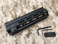 実物 MIDWEST HK416/MR556  ハンドガード M-LOK 9インチ
