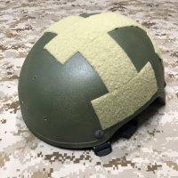 実物放出品 MSA MICH2001 (TC2001) ヘルメット 純正3ホール L:size OD