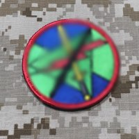MADE IN USA  実物 DELTA/CAG エースショルダーパッチ (4)