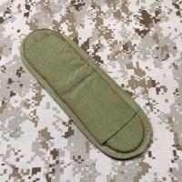 米軍官給品 EAGLE MLCS ショルダーパット カーキ 片側1個