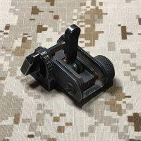 米軍放出 実物官給品 MaTech BUIS 600m バックアップリアサイト(4)