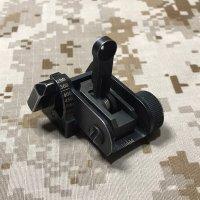 米軍放出 実物官給品 MaTech BUIS 600m バックアップリアサイト(3)